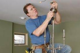 2017 lighting fixture installation costs average price to
