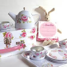 vintage tea set vintage white tea set and personalised invitations by