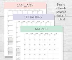 mini desk calendar 2017 2017 monthly planner printable monthly calendar organizer