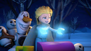 olaf disney introduces u0027frozen northern lights