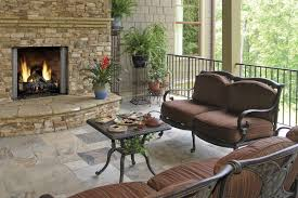 indoor outdoor double sided fireplace the differences of indoor