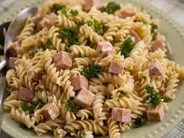 pasta slad mortadella pasta salad recipe nigella lawson food network