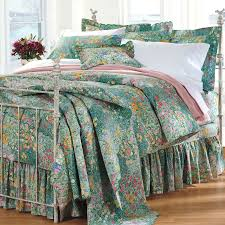 Indie Bedspreads Monet Bedding In Green Best Bedding Pattern Ever Www Cuddledown