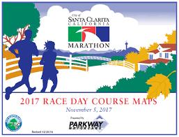 santa map courses santa clarita marathon