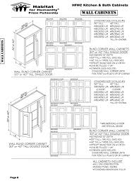 what is the depth of wall cabinets webuild cabinet catalog