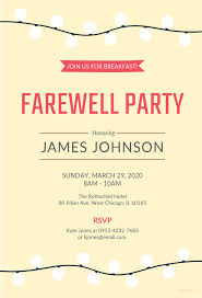 farewell party invitation farewell party invitation template 27 free psd format