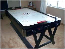 air hockey combo table air hockey and pool table combo pool table air hockey combo parts