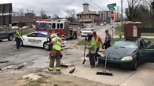two car crash in macon sends 1 to hospital wgxa