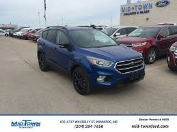 Ford Lightning New New 2017 Ford Escape Titanium 4wd 4 Door Sport Utility In Winnipeg