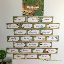 Student Desk Plates by 27 Practical Word Wall Ideas For The Classroom Teach Starter Blog