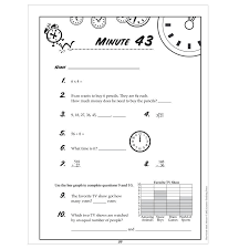 periodic table 6th grade endearing sixth grade math minute worksheets on mad math minute