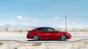 lexus matador red lexus gs f in matador red mica and ultrasonic blue auto moto