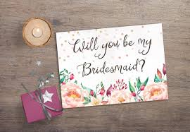 bridesmaid invitations template printable will you be my bridesmaid printable bridesmaid card