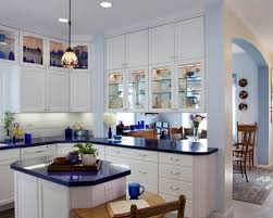 white cabinets and blue countertops ideas u0026 photos houzz