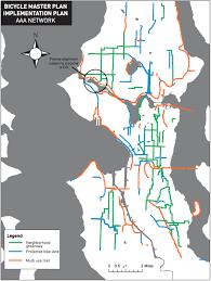 Wsdot Seattle Traffic Flow Map by Seattle U0027s Baffling Short Term Bike Plan Cuts Safety Pretends