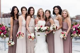 dresses for bridesmaids bridesmaids dress attire florham park nj weddingwire