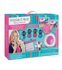 Barbie Dream Furniture Collection by Make It Real Beauty Collection Glitter Dream Nail Spa Joann