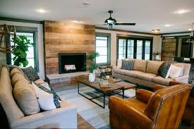 The Living Room by Fixer Upper Season 3 Episode 10 The Peach House