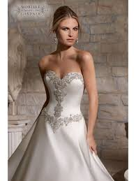 silver wedding dress mori 2703 detail gown wedding dress ivory silver