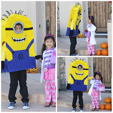 Despicable Minions Halloween Costume Homemade Halloween Costumes Green Kid Crafts