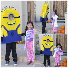 Minion Halloween Costumes Girls 75 Creative Diy Halloween Costumes Kids Personal Creations Blog