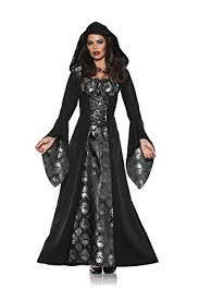 amazon com underwraps skull mistress womens gothic witch robe