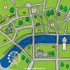 city map city map vector free