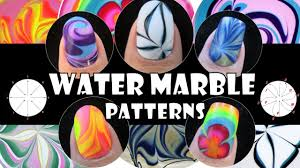 water marble patterns 1 how to basics nail art design