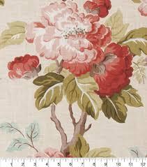 eaton square upholstery fabric 54 u0027 u0027 coral floralnull colors