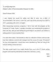 bunch ideas of request letter of recommendation sample graduate