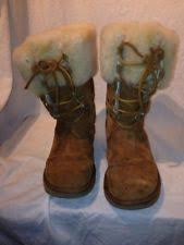womens leather lace up boots australia ugg australia 100 leather lace up boots for ebay