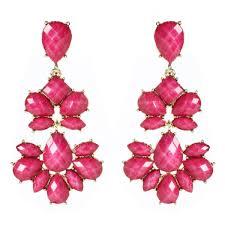 Pink Chandelier Earrings Nello Chandelier Earring Shop Amrita Singh Jewelry