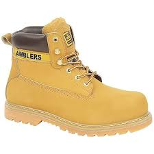 womens boots toe amblers steel fs7 steel toe cap boot womens boots amazon co uk