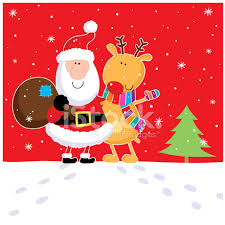 santa rudolph hug stock photos freeimages