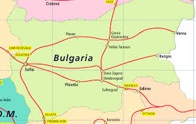 Eurostar Route Map by Bulgaria Eurail Pass Rail Plus New Zealand