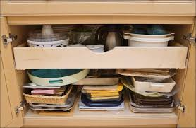 Kitchen Cabinet Storage Baskets Kitchen Under Sink Pull Out Storage Under Shelf Storage Basket
