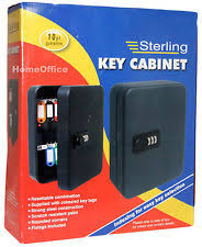 Key Cabinet With Combination Lock Combination Key Cabinet Security U0026 Home Automation Ebay