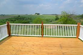 Restaining Banister How To Paint Porch Rails And Stain A New Deck Newlywoodwards