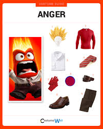 Inside Out Costumes Dress Like Anger Costume Halloween And Cosplay Guides