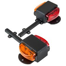 dual led truck and trailer light led side clearance lights