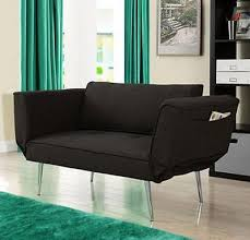 Single Bed Sleeper Sofa Black Futon Chair Single Bed Accent Daybed Sleeper Sofa