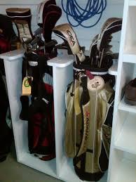 Garage Golf Bag Organizer - 13 best golf clubs storage images on pinterest garage