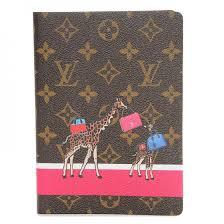 giraffe pattern notebook louis vuitton monogram giraffe xmas clemence equipee sauvage