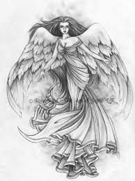 angel tattoo design 2 by laiyla on deviantart