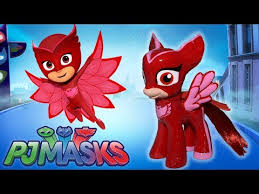 custom pj masks owlette pony tutorial diy disney jr mlp