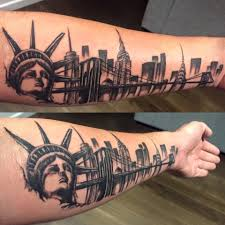 tattoo pictures of new york my new york city skylike tattoo by tracey of shinto tattoo gallery