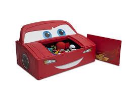 Little Tikes Toy Chest Delta Children Disney Pixar Cars Lightning Mcqueen Covertible