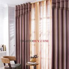 Lavender Blackout Curtains Romantic Lavender Striped Blending Fabrics Blackout Curtains Buy