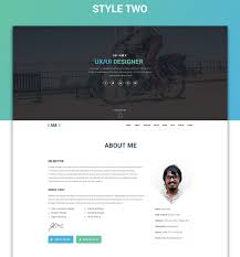 Cv Website by Resume Template 41 Best Creative Cv Examples Techclient For 87