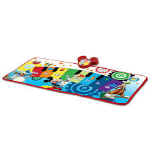 amazon com mickey mouse club house piano music mat toys u0026 games